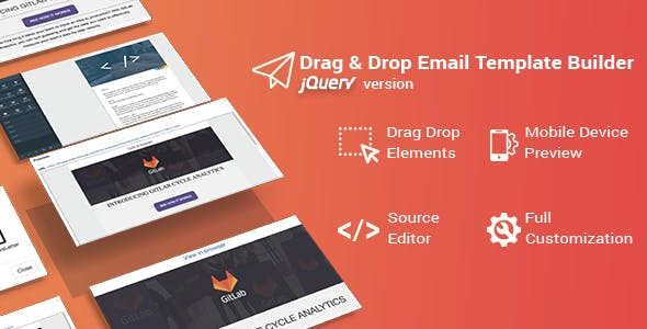 HTML Builder Drag Drop Plugins, Code & Scripts from CodeCanyon