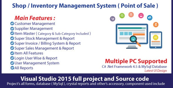 Shop Advance | Full Sales & Inventory Management System with source