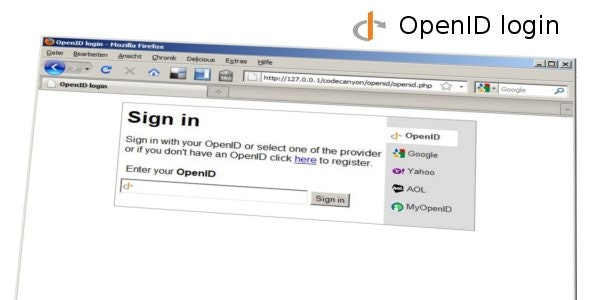 OpenID login - CodeCanyon Item for Sale