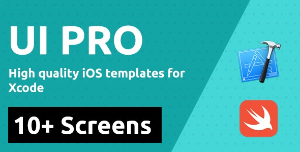 UI PRO - IOS Template Designs for Swift Xcode Theme App - CodeCanyon Item for Sale