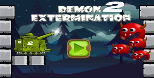 Demon Extermination 2 (HTML5 android,IOS,.capx,touch)