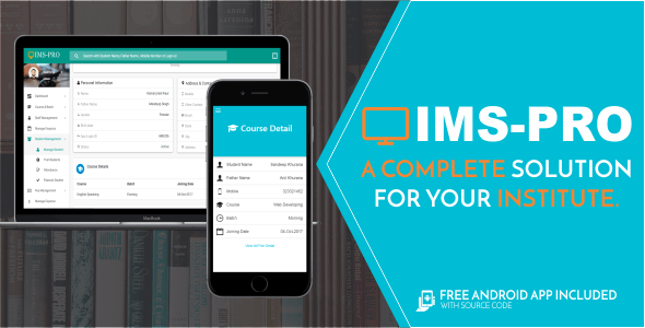 IMS Pro - Institute Management System - CodeCanyon Item for Sale