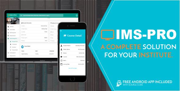 IMS Pro - Institute Management System