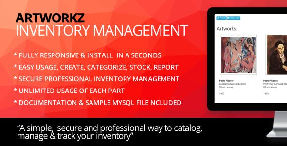 ArtWorkz Inventory & Stock Management