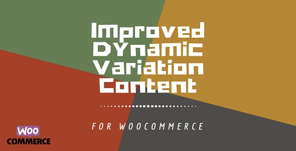 WooCommerce Dynamic Variation Content Plus - CodeCanyon Item for Sale