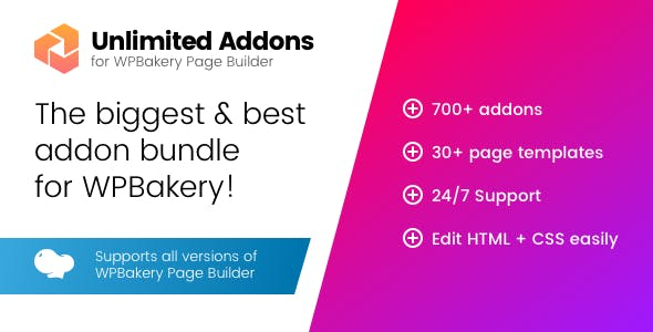 Unlimited Addons for WPBakery Page Builder (Visual Composer)        Nulled