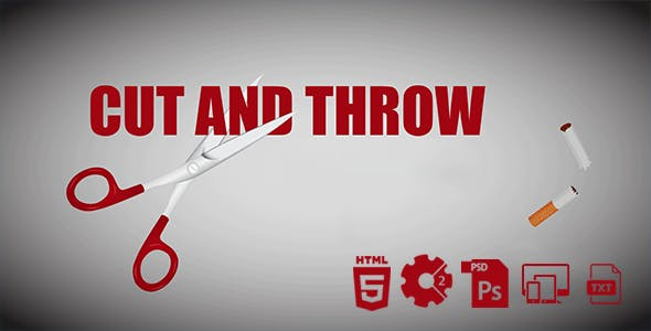 Cut And Throw The Cigarettes HTML5 Game