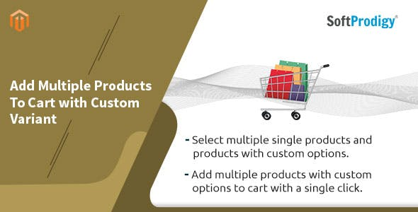 Add Multiple Products To Cart with Custom Variant