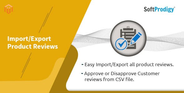 Import/Export Product Reviews in Magento