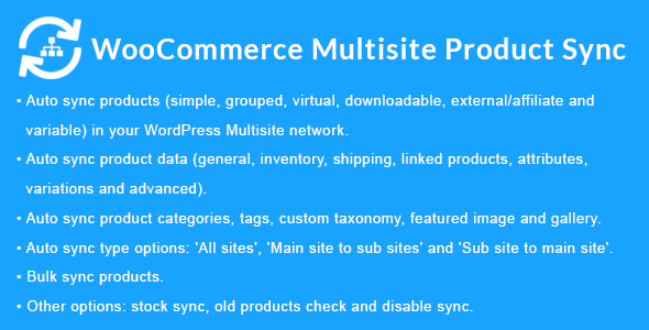 WooCommerce Multisite Product Sync - CodeCanyon Item for Sale