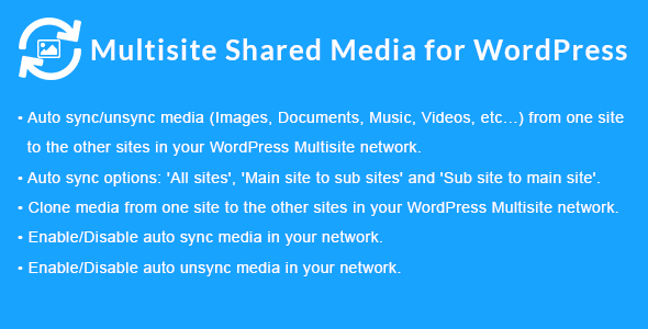 Multisite Shared Media for WordPress