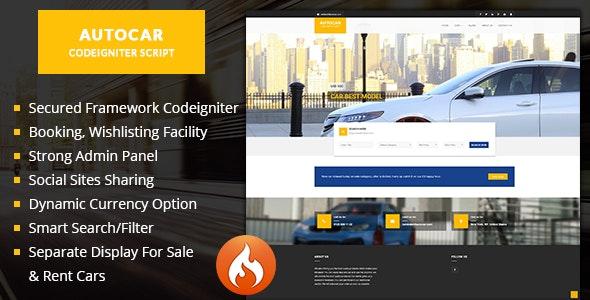 Auto car - Car listing script car dealer script - CodeCanyon Item for Sale