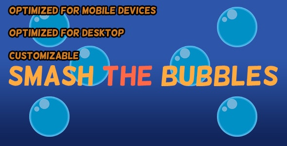 Smash The Bubbles (HTML5 Game + Construct 2 CAPX) - CodeCanyon Item for Sale
