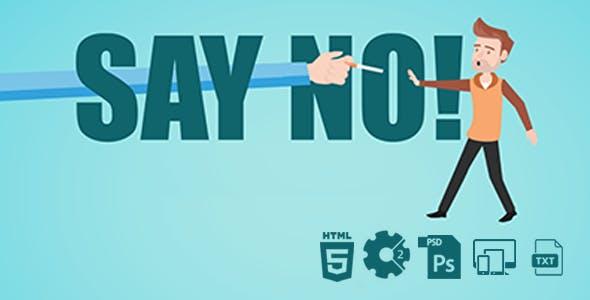Say No to Smoking! HTML5 Game
