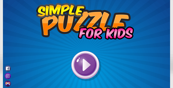 Simple Puzzle For Kids - CodeCanyon Item for Sale