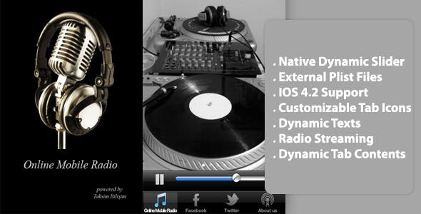 Online Dynamic Mobile Radio