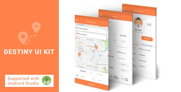 Destinu UI KIT XML Source Code