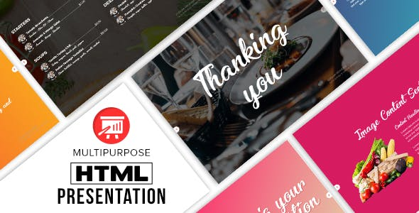 Multipurpose HTML Presentation