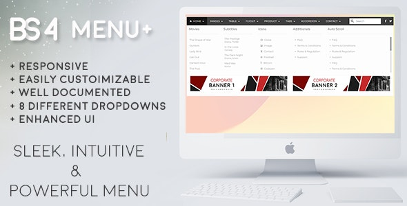 Bootstrap Navbar - CodeCanyon Item for Sale