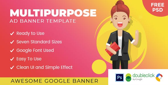 Armadow Multipurpose | HTML 5 Animated Google Banner