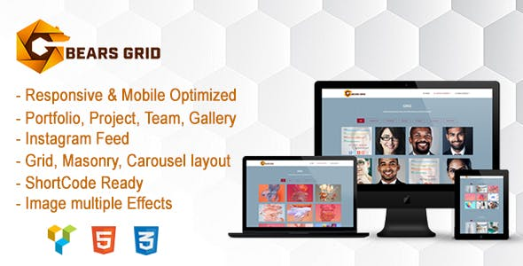 BearsGrid - Responsive WordPress Grid Plugin