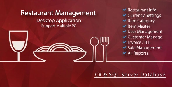 Easy Restaurant Management System & All Reports with full source code - CodeCanyon Item for Sale