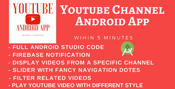 YouTube Android App by WRTeam | CodeCanyon