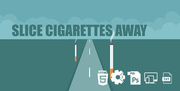 Slice Cigarettes Away HTML5 Game