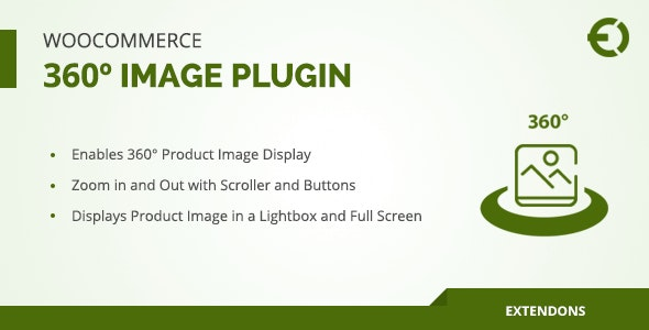 WooCommerce 360º Image Plugin - CodeCanyon Item for Sale