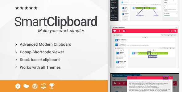 Ultimate Clipboard and View Shortcode Addon for WPBakery Page