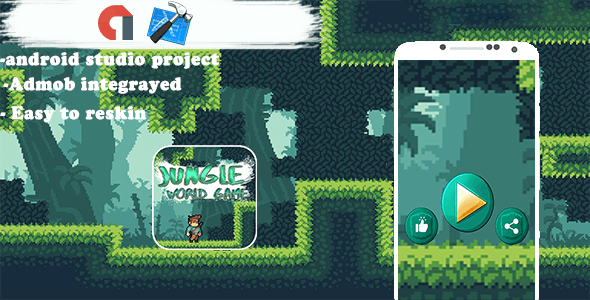JUNGLE SinDo WORLD Pro (Admob + Xcode Project )