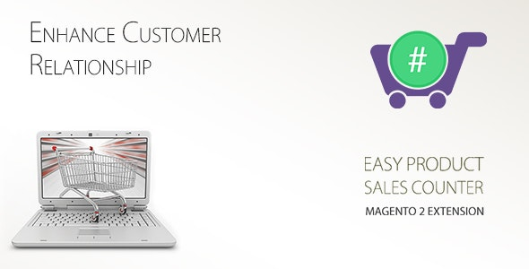 Easy Product Sales Counter Magento-2 - CodeCanyon Item for Sale
