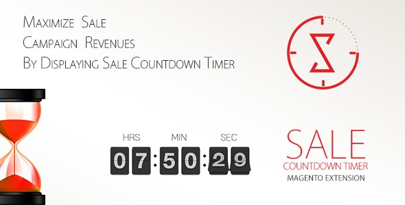 Sale Countdown Timer - CodeCanyon Item for Sale