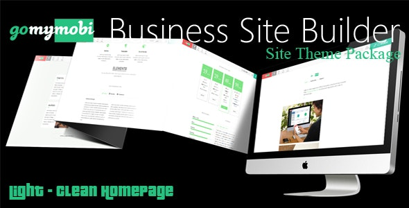 gomymobiBSB's Site Theme: Light - Clean Homepage - CodeCanyon Item for Sale