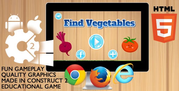 Find Vegetables Educational
