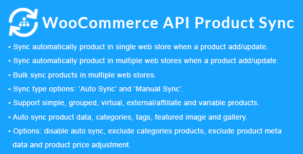 WooCommerce API Product Sync with Multiple WooCommerce