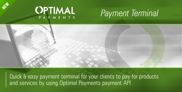 OptimalPayments.com Payment Terminal - CodeCanyon Item for Sale
