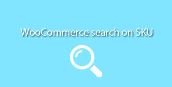 Search on SKU Woocommerce