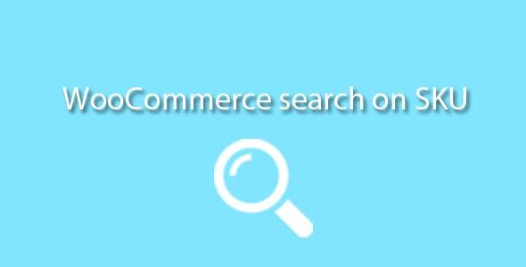 Search on SKU Woocommerce