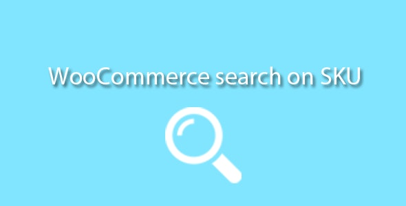 Search on SKU Woocommerce - CodeCanyon Item for Sale