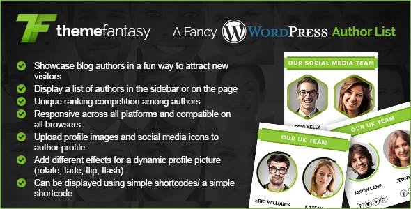 A Fancy Wordpress Author List