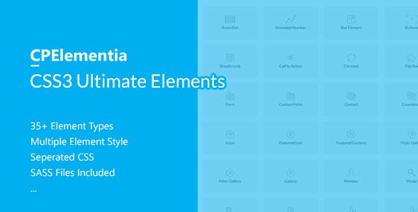 CPElementia - CSS3 Ultimate Elements