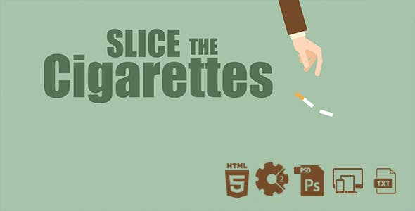 Slice The Cigarettes HTML5 Game