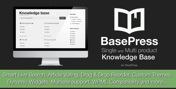 BasePress Pro - WordPress Knowledge Base Plugin