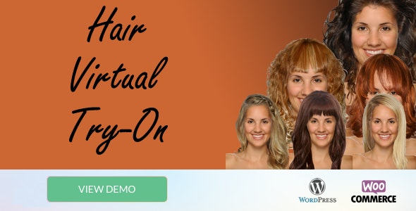 WooCommerce Wigs Virtual Try-On