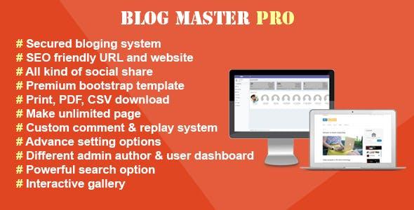 Blog Master Pro