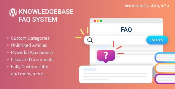 Knowledgebase/FAQ Plugin for WordPress