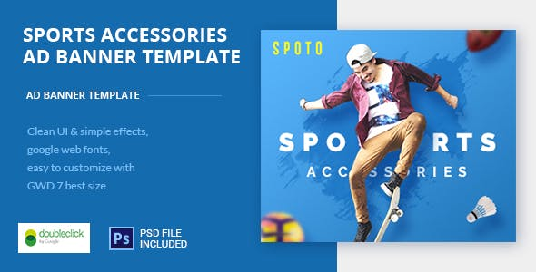 Multi Sports HTML AD Banner 01