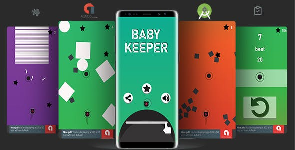 Keeper Baby (Android Studio Project + Bbdoc+ Admob)