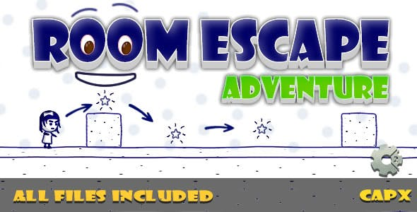 Room Escape (CAPX & HTML) Game!